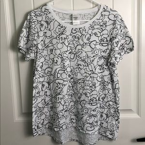 Disney Mickey Mouse Printed Shirt